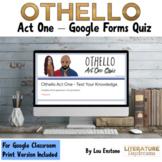 Othello Act 1 Quiz Google Forms