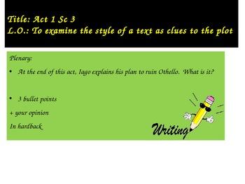 Othello Act 1 Sc 3