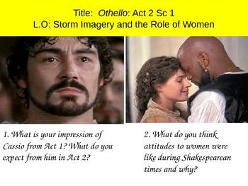 Othello Act 2 Sc 1