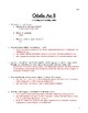 Othello: Act II Viewing and Reading Guide