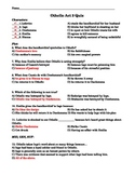 Othello Act III Quiz-Application and Comprehension