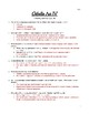 Othello: Act IV Viewing and Reading Guide