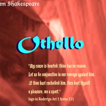 Othello Antagonist poster