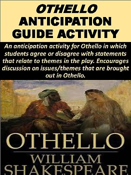 Othello Anticipation Guide Activity