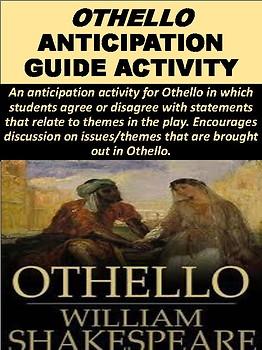 """Othello"" Anticipation Activity"