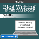 Othello: Character Blog Writing - Projects & PBL