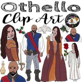 Othello Clip Art Set