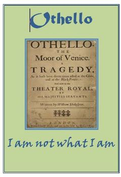Othello Daily Lesson Plans and Activities Only
