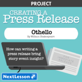 Othello: Event Press Release - Projects & PBL