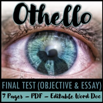 Othello Final Test (50-Question Objective Test)