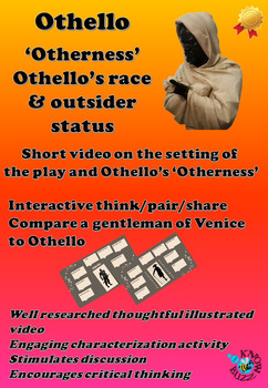 'Othello' by William Shakespeare - Othello's race and outs