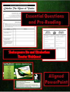 Othello Introduction Packet and PowerPoint