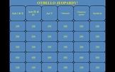 Othello Jeopardy PowerPoint Game
