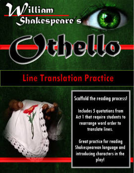 Othello Line Translation Practice