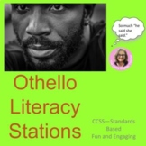 Distance Learning Othello Literacy Stations Common Core
