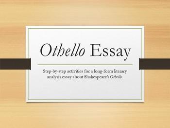 Othello Literary Analysis Essay, International Baccalaureate (IB) Style