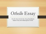 Othello Literary Analysis Essay, International Baccalaurea