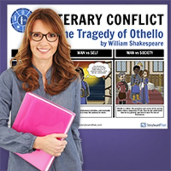 Othello: Literary Conflict Poster