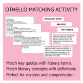 Othello Matching Activity