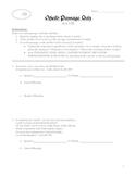 Othello Passage Quiz: Acts I-III (Includes Key)
