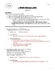 Othello Passage Quizzes: Acts I-III (includes 2 quiz versions and 2 answer keys)