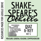 Othello Quiz - Act 1