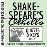 Othello Quiz - Act 5