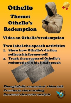 'Othello' by William Shakespeare - Othello's redemption