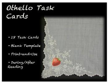 Othello Task Cards