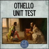 Othello Test and Answer Key