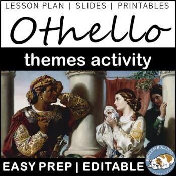 Othello Themes Textual Analysis Activity