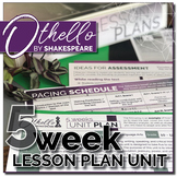 Othello Unit Plan: 5 Weeks of Daily lessons