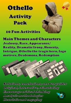 'Othello' by William Shakespeare Activity Pack