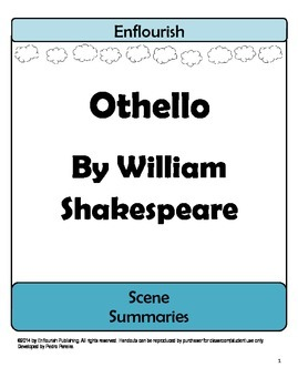 Othello by William Shakespeare Chapter Summaries