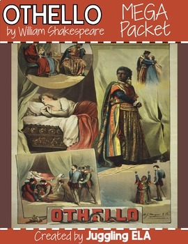 Activities and Handouts for Othello by William Shakespeare