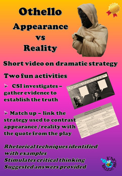 'Othello' by William Shakespeare - Appearance versus Reality