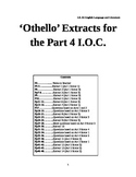 'Othello' extracts pack