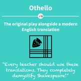 Othello: the Original Play Alongside a Modern English Translation