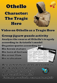 Essay With Thesis Statement Example  Othello By William Shakespeare  Othello As A Tragic Hero   English Essay On Terrorism also Private High School Admission Essay Examples Shakespeare Othello Teaching Resources  Teachers Pay Teachers Reflective Essay On English Class