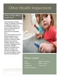 Other Health Impairment Brochure for Parents and Teachers