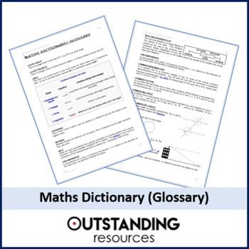 Maths: Glossary / KEYWORDS (ALL Topics) - Foundation Focus