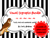 Other Vowel Digraphs BUNDLE ew, ui, oo, au, aw, oo