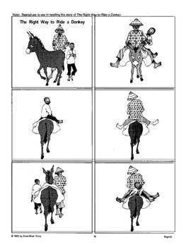 """Other Ways to Use """"The Right Way to Ride a Donkey"""""""