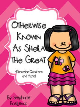Otherwise Known As Sheila the Great (Discussion Questions