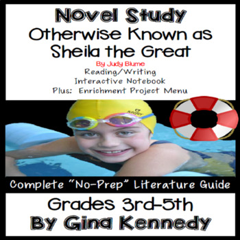 Otherwise Known as Sheila the Great Novel Study & Enrichment Project Menu