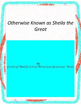 Otherwise Known as Sheila the Great Unit  with Literary an