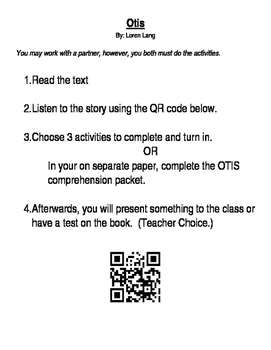 Otis By Loren Lang activities
