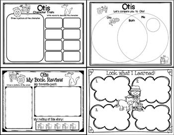 Otis (Story Companion with nonfiction activities included!)