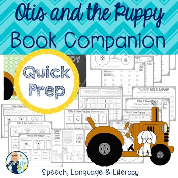 Otis and the Puppy Print and Go Speech and Language Book C