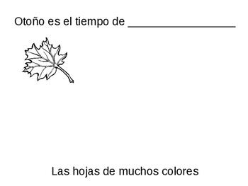 Otoño es tiempo de.. LIBRITO (Fall is time for... BOOK to make)